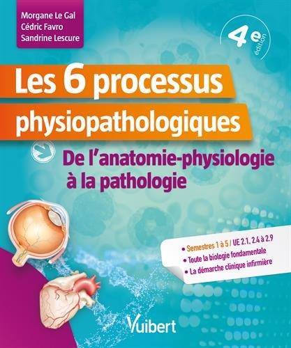 Les 6 processus physiopathologiques - UE 2,1, 2,4 à 2,9 - De l'anatomie-physiologie à la pathologie