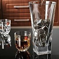 Jiedoasi 1 Piezas de Acero Inoxidable Piedras de Whisky Cubo Glaciar Rocas de Whisky