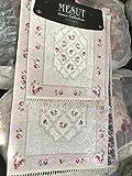 Mesut Home Collection Badezimmer Garnitur Teppich 2-teillig 60 x 50 100 x 160 cm Rutschfest top Qualität top Design hygenisch