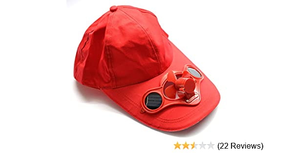Sunya Shakti Solar Powered Fan Cap Keeps You Cool  Amazon.in  Computers    Accessories bad2c15253d