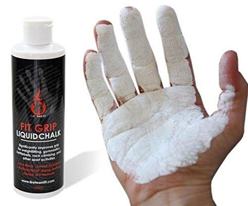 Fire Team Fit Liquid Fit Grip, Liquid Chalk, Sport Kreide,Chalk, klettern, liquid chalk, kletter kreide, gewichtheber magnesium, Kreide in eine Flasche (250 mL)