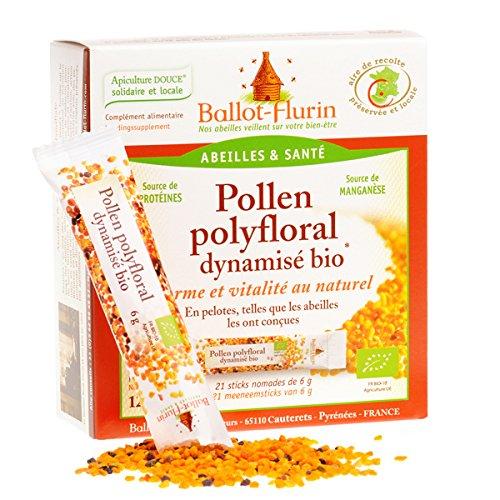 Ballot-Flurin - Pollen polyfloral dynamisé en stick