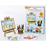 Funvention Little Art Gallery - Puzzle & Coloring Art Kit