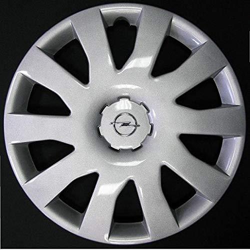 Lot de 4 Enjoliveurs Enjoliveur Boutons Clous de voiture Coupes Rivets Roue Renault Megane r 13 depuis 2001 (Sc 420L) Logo Chromè