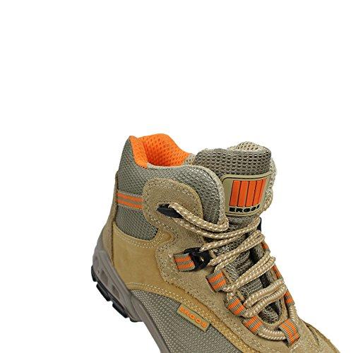 2 S1P SRC Ergos Majorque protagonista, scarpe, scarpe, business scarpe, alto marrone lavoro Marrone (marrone)