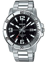 Casio Enticer Analog Black Dial Men's Watch - MTP-VD01D-1BVUDF (A1361)