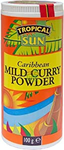 Tropical Sun Caribbean Mild Curry Powder - 100g
