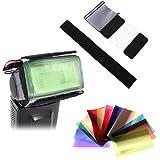 #4: Generic 12 Color Gel Filter w/ Holder Set For Photography Light Flash Speedlite Lighting