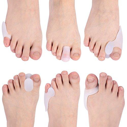 Bunion correttore alluce valgo piedi salute orthotic device kit per la cipolla valgo e sollievo del dolore ai piedi da doact 12 pcs
