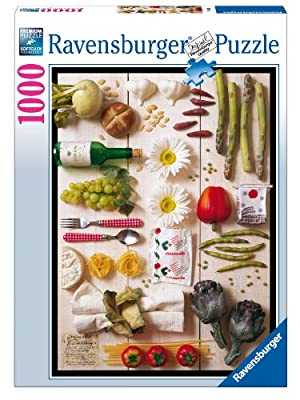 Ravensburger 19111 Cocina Mediterránea - Puzzle (1000 piezas) por Ravensburger