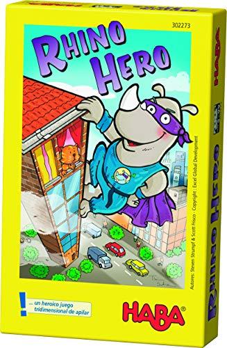 Haba- Rhino Hero - EUS, Multicolor (Habermass 302618)