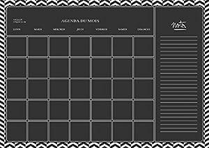 Decopatch-AD013O-Maildor-M. Design-Juego de Adhesivos para Pared-Juego de 2 tablas-49 x 69 cm, Formato semanal