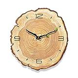 16'Reloj De Madera Árabe Número De Diseño Rústico País Estilo De Madera Reloj De Pared Decorativo,16Incha