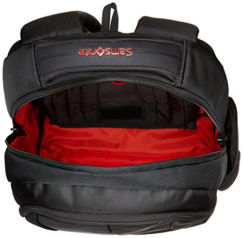 Best samsonite backpack in India 2020 Samsonite Ikonn Polyester 24 Ltrs Black Laptop Backpack (31R (0) 09 001) Image 7