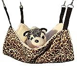 Ylen Katzen Hängematte Haustier Kätzchen Decke Käfig Hängendes Bett für Welpe Ratte Frettchen Kaninchen