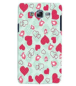 Citydreamz Pink Dotted Hearts/Love/Valentine Hard Polycarbonate Designer Back Case Cover For Samsung Galaxy Grand Neo/Grand Neo Plus I9060I
