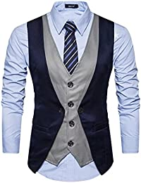 3b4740f3cf75c Waistcoat  Buy Waistcoats online at best prices in India - Amazon.in