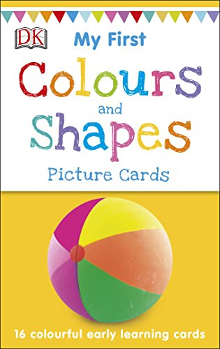 My First Colours & Shapes (Picture Cards) por DK