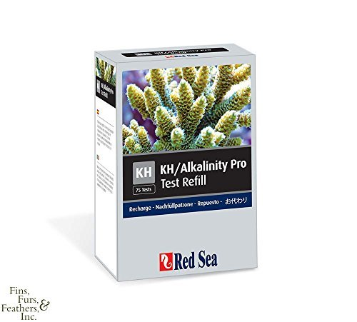 Red Sea Fish Pharm ARE21411 Reagent KH/Alkalinity Pro Kit Refill for Aquarium, 75 Tests by Red Sea Fish Pharm Ltd. -