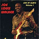 Live at Slims 1 Live Edition by Walker, Joe Louis (1994) Audio CD