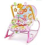 Defect Baby-Wiege-Stuhl, vibrierende Musik Baby Schaukelstuhl elektrische Faltbare beruhigende Stuhl Baby Schaukel Stuhl
