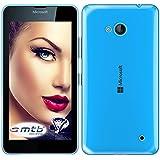 mtb more energy® Funda Clear & Slim para Microsoft Lumia 640 (5.0'' Display) | transparente | flexible | delgada | Gel TPU Silicona Carcasa Suave Cascara