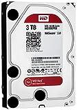 WD Red 3TB NAS Desktop Hard Disk Drive - Intellipower SATA 6 Gb/s 64MB Cache 3.5 Inch