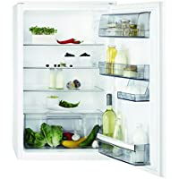 AEG SKA7883AAS Kühlschrank / Vollintegrierbarer Kühlschrank ohne Gefrierfach / 142 Liter Kühlraum mit Glasablagen / energieeffizienter Einbaukühlschrank der Klasse A+++ (96 kWh/Jahr) / Weiß