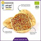 Bio getrocknete Feigen Protoben 1kg, Frische Ernte a. d. Türkei, Rohkost-Qualität, Vegan, ungezuckert und ungeschwefelt