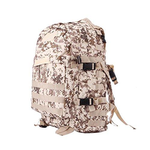 UFACE Bitte klicken Sie nicht auf diese Aktion, wir werden entsprechend Geld Camouflage Tragen GroßE KapazitäT Outdoor-Klettern Rucksack Bag (A)