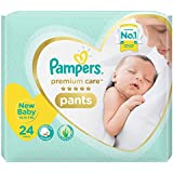 Pampers Premium Care Pants Diapers, Extra Small (XS), NB 24 Count