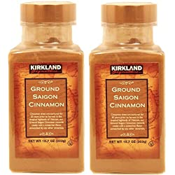 2 Pack - Kirkland Signature Ground Saigon Cinnamon 303g