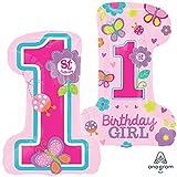 Amscan Super/Form Sweet Birthday Girl Ballon
