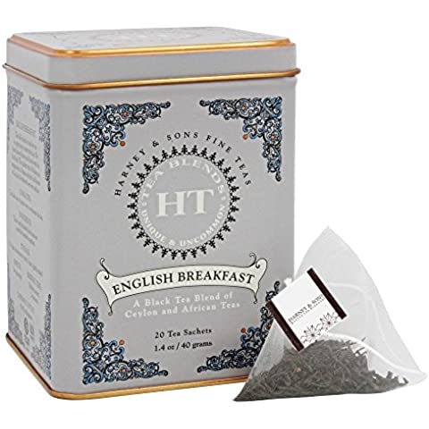 Harney & Sons Black Tea English Breakfast -- 20 Tea Bags