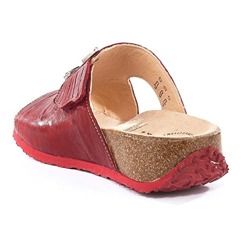 Think! 86351-72, Sandales Pour Femme Rouge Rot Rouge