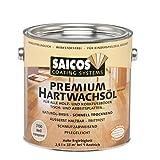 Restposten SAICOS Premium Hartwachsöl weiß transparent matt 2,5 Liter