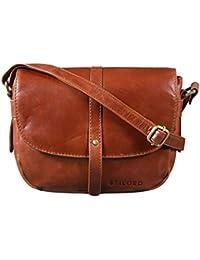 8482c7faa10d8 STILORD  Clara  Kleine Umhängetasche Frauen Leder Vintage Handtasche zum Ausgehen  Klassische Abendtasche Partytasche Freizeittasche