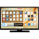 Telefunken LED-TV 99cm 39 Zoll B39F545B EEK A+ DVB-T2, DVB-C, DVB-S, Full HD, Smart TV, WLAN, CI+ Sc