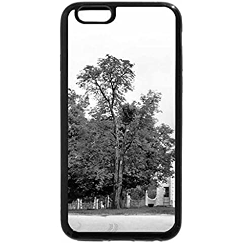iPhone 6S Case, iPhone 6 Case (Black & White) - Church of Bennington, Vermont