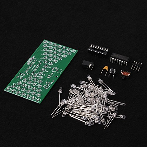 JENOR Elektronische 5V-Sanduhr-Bausatz Lustige Elektronische Produktions-Kits Mit LED -