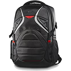 "Targus Gaming - Mochila para Gamers de 17.36"", Color Negro y Rojo"