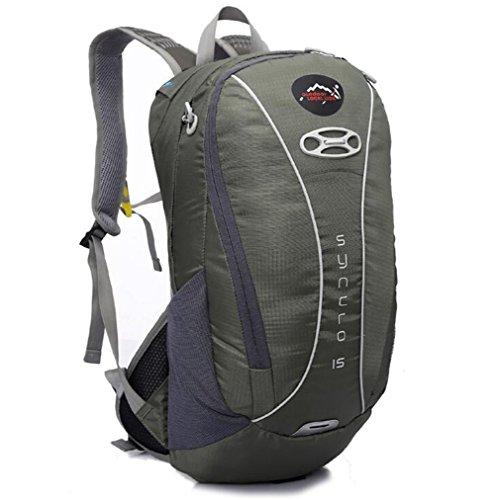 Wmshpeds Maneggio esterno maschio pacchetto viaggi zaino multi - funzionale fashion arrampicata sportiva borsa a tracolla D