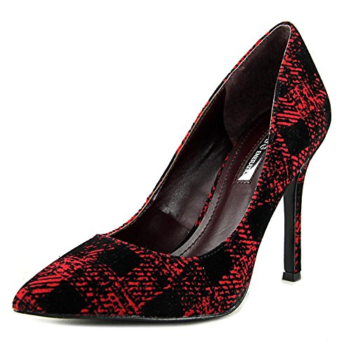 BCBGeneration Treasure Toile Talons Holiday Red