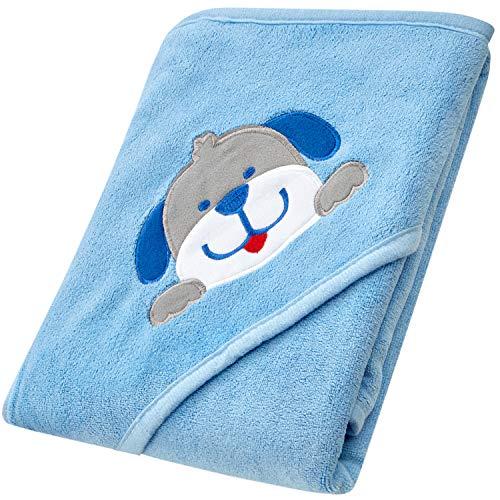 Mias Baby Badehandtuch mit Kapuze - Bade-Poncho, Kapuzenhandtuch für empfindliche Baby-Haut nach dem Baden - für Babys und Kleinkinder
