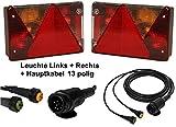 Aspöck Multipoint 4 - Leuchtenset - 13polig - 4m Kabel