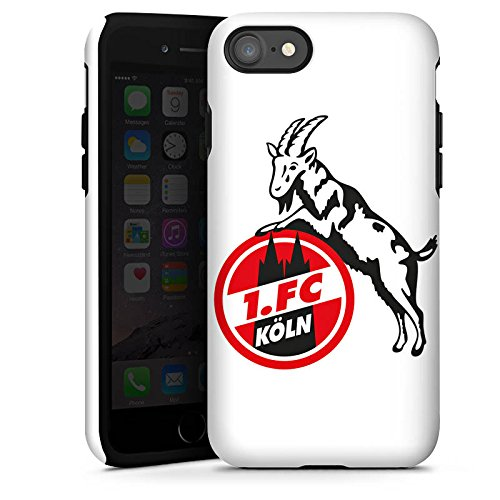 Apple iPhone X Silikon Hülle Case Schutzhülle 1. FC Köln Fanartikel Fußball Tough Case glänzend