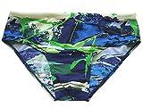 Solar Men Functional Fashion Badehose, Badeslip in blau/grün, Gr. 6 (L)
