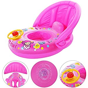 Zerodis. Baby Bath Seat, Baby Bathtub Seat for Sit-Up Bathing with Backrest Support for Stability Infant Child Toddler Kids Anti Slip Safety Comfortable Bath Chair