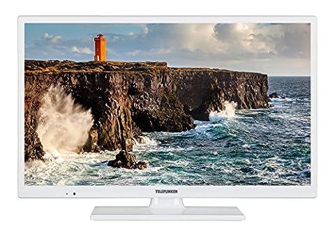 Telefunken XH24D101-W 61 cm (24 Zoll) Fernseher (HD Ready, Triple Tuner)
