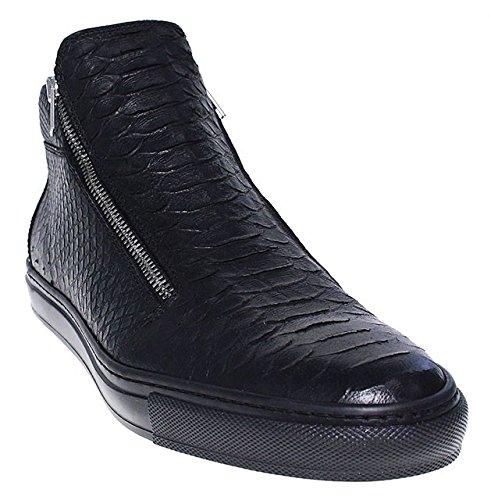 CLOCHARME, Sneaker uomo Nero nero, Nero (nero), 42